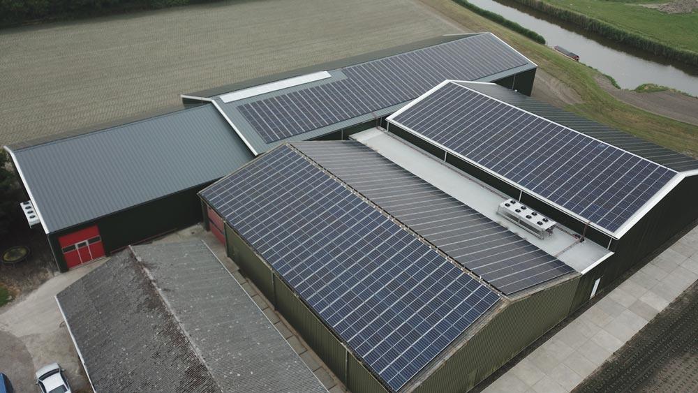 Zakelijke zonnepanelen